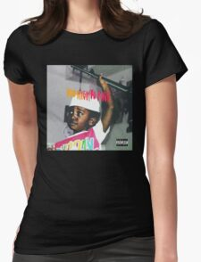 Bas - Too High to Riot Womens Fitted T-Shirt