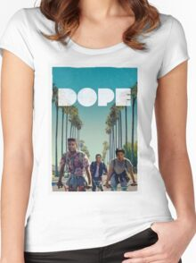 Dope - Movie Cover Women's Fitted Scoop T-Shirt