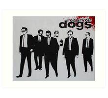 RESERVOIR DOGS The Movie Art Print