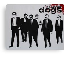 RESERVOIR DOGS The Movie Canvas Print