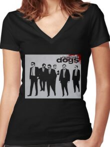 RESERVOIR DOGS The Movie Women's Fitted V-Neck T-Shirt