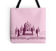 Silent Moon Kingdom - Pink Tote Bag