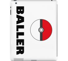 Pokemon baller iPad Case/Skin