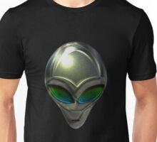 Metal Alien Head 02 Unisex T-Shirt