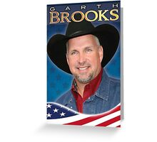 GARTH BROOKS Greeting Card