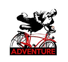 Pee Wee's Big Adventure Photographic Print