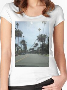 Beverly Hills Women's Fitted Scoop T-Shirt