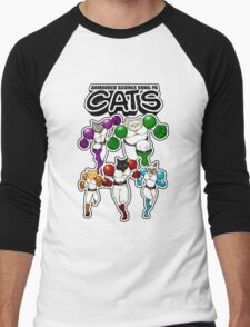 Armoured Science Kung-Fu Cats Men's Baseball ¾ T-Shirt