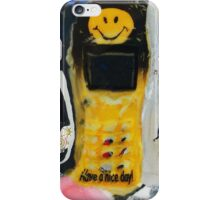 Recycled Mobile Phone cases - HAVE A NICE DAY iPhone Case/Skin