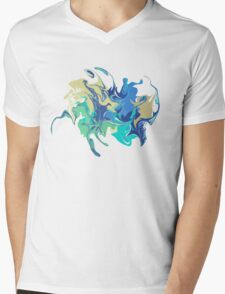 Marble texture. Different colors. Beautiful vector illustration for your design, print, background Mens V-Neck T-Shirt