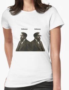 Debussy Womens Fitted T-Shirt