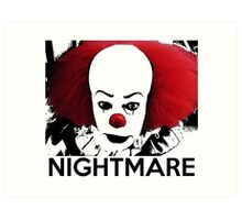 Pennywise - Your Worst Nightmare Art Print