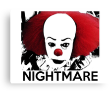 Pennywise - Your Worst Nightmare Canvas Print