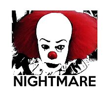 Pennywise - Your Worst Nightmare Photographic Print