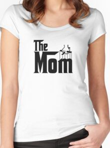 The Mom T-Shirt Women's Fitted Scoop T-Shirt