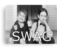 Little Rascals Swagger Canvas Print