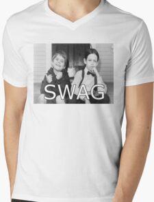 Little Rascals Swagger Mens V-Neck T-Shirt
