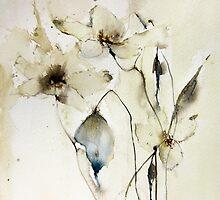 delicate flowers by annemiek groenhout