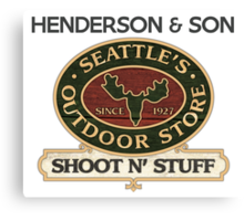 Seattle's Outdoor Store Canvas Print