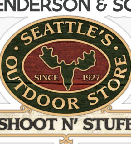 Seattle's Outdoor Store Sticker