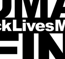 Human Being BLM Sticker Sticker