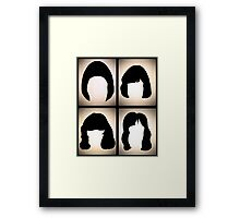 The Ramones RnRHS Framed Print
