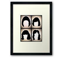 The Ramones RnRHS Framed Print