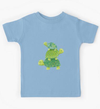 Turtle Stack Kids Tee