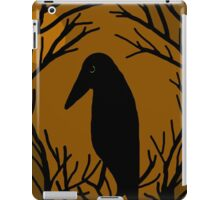 Halloween raven iPad Case/Skin