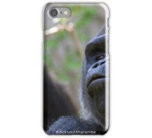 Dicks out 4 Harambe iPhone Case/Skin