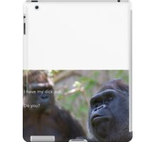 Dicks out 4 Harambe iPad Case/Skin