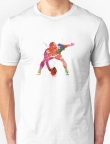 center american football player man Unisex T-Shirt