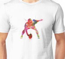 center american football player man Unisex T-Shirt