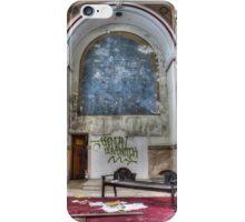 Empty Side Altar, Most Blessed Sacrament, Philadelphia iPhone Case/Skin