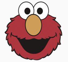 Elmo Head Smile Kids Tee