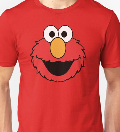 Elmo Head Smile Unisex T-Shirt