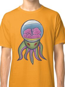 Alien-Octopus with Red Eyes Classic T-Shirt