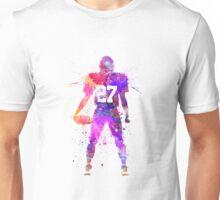 quarterback american football player man Unisex T-Shirt