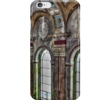 Damaged Wall, Most Blessed Sacrament, Philadelphia iPhone Case/Skin