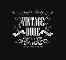 Vintage Dude 40 since 1976 – 40th birthday anniversary gift for men  Unisex T-Shirt
