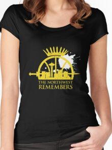 the northwest remembers Women's Fitted Scoop T-Shirt