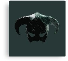 Dragon Born Helmet Canvas Print
