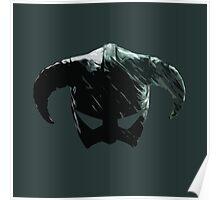 Dragon Born Helmet Poster