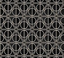 Deathly Hallows Pattern  by BGWdesigns