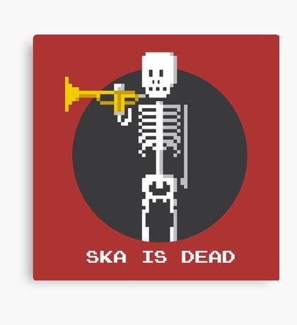 Ska Is Dead Canvas Print