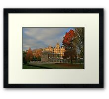 Bournemouth Town Hall & Cenotaph Framed Print