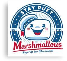 Marshmallows Canvas Print