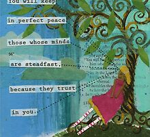 Steadfast Mind - Perfect Peace by Eva C. Crawford