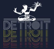 DETROIT - 1980's Vintage Design by robotface