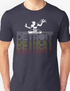 DETROIT - 1980's Vintage Design T-Shirt